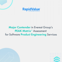 RapidValue Recognized as a Major Contender in Everest Group&