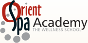 Logo for Orient Spa Academy'