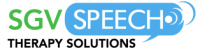 SGV Speech Therapy Solutions Logo