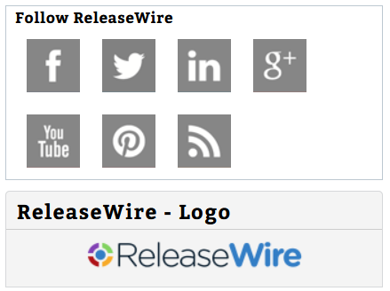 ReleaseWire Connect - Social Media Links on a Press Release'