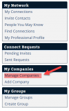 ReleaseWire Connect -Manage Companies'