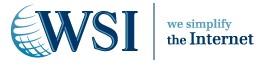 Logo for WSI Expert Internet Marketing'