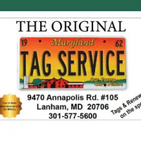 Maryland Tag Services Logo