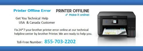 HP Printer offline'
