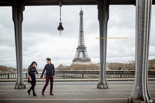 Photoshoot in Paris'