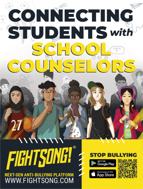FightSong connects students to their school counselors.'
