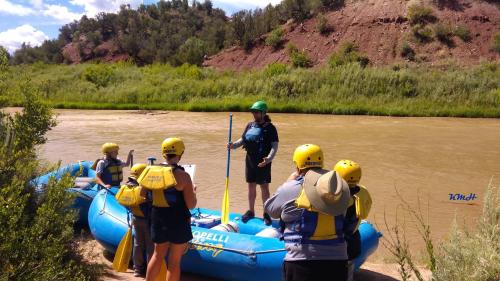 Rio Grande River Rafting'