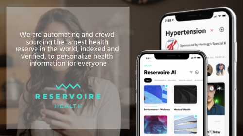 Reservoire Uses AI to Grow Health and Resilience'