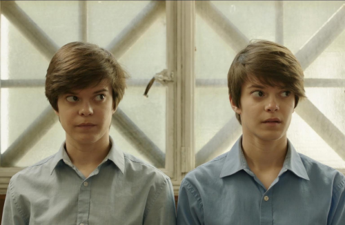 Twins star in the suspense thriller directed by Linda Shayne'