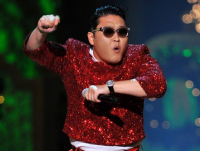 Gangnam style famous PSY