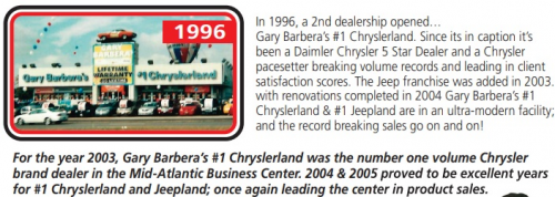 Gary Barbera, Barbera's on the Boulevard and His B'