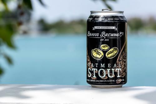 Bravus Brewing Company Non-Alcoholic Oatmeal Stout'