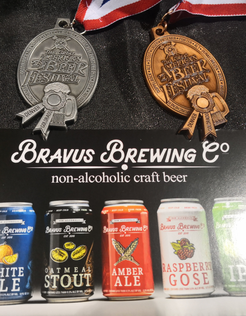 2019 GABF Silver and Bronze Medals for Non-Alcoholic Beer'