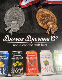 2019 GABF Silver and Bronze Medals for Non-Alcoholic Beer