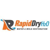 Rapid Dry H2O Water Damage Restoration Logo