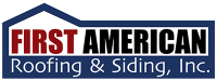 First American Roofing and Siding Logo