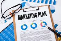 Marketing plan templates are a great place to start.