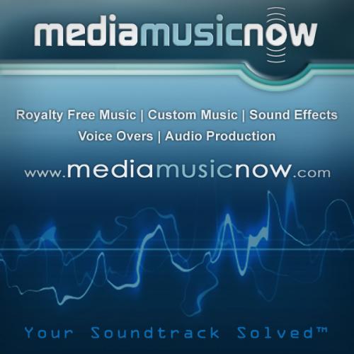 Logo for Media Music Now'
