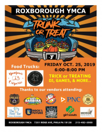 Free and Open to the Public Halloween Trunk or Treat at the