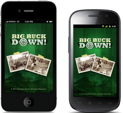 Big Buck Down App'