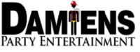 Damiens Party Bus Logo