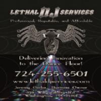 Lethal DJ Services Logo