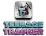 Teenage Tracker Logo'