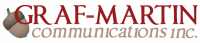 Graf-Martin Communications Logo
