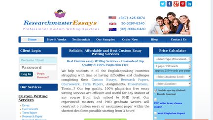 Research Master Essays'