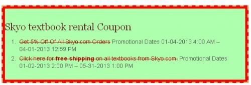Skyo coupon'
