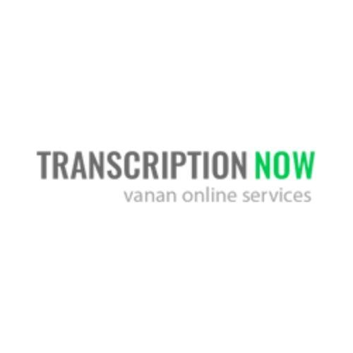 Company Logo For Transcription Now'