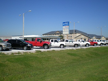 Used Car Dealership'