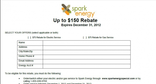 Spark Energy Review'
