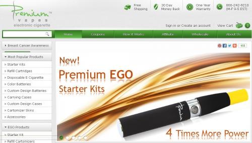 Premium E-cigarette'