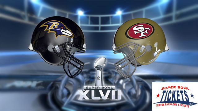 49ers vs Ravens in Super Bowl XLVII