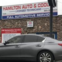 Hamilton Auto and Cooling Logo