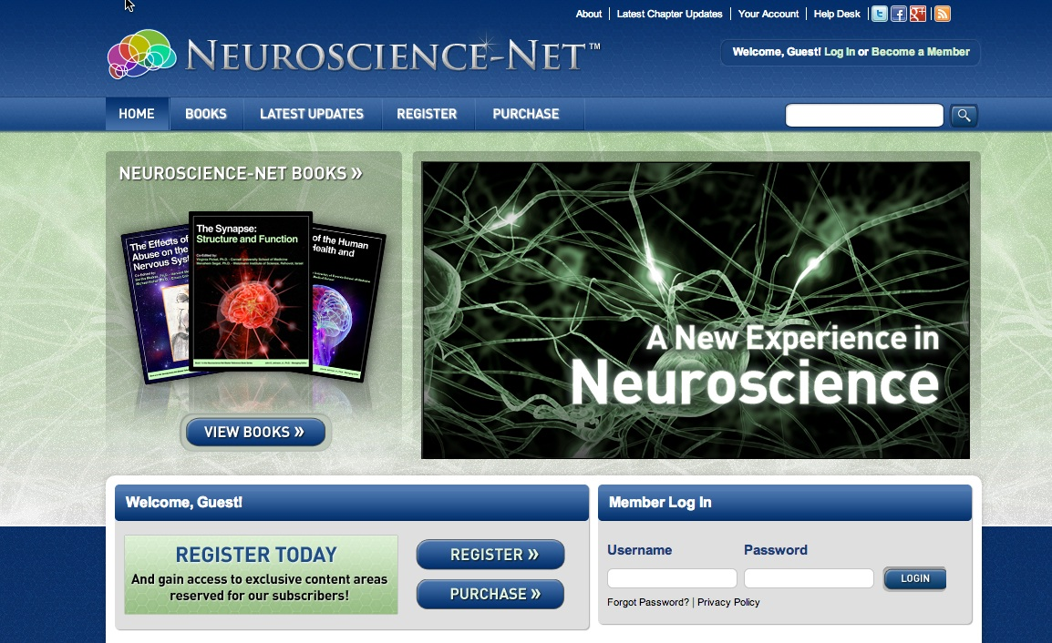 Neuroscience.com Homepage - Neuroscience Books