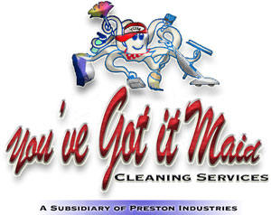 Logo for You've Got it Maid Cleaning Services'