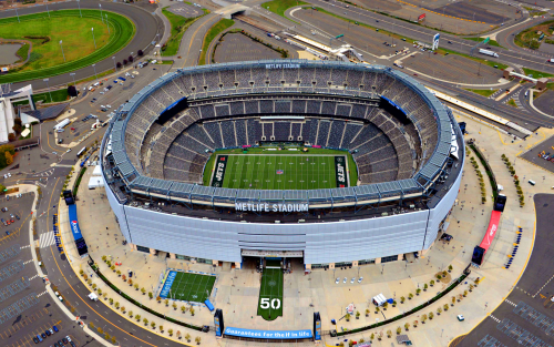 2014 Super Bowl in Metlife Stadium'