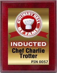 Chef Charlie Trotter'