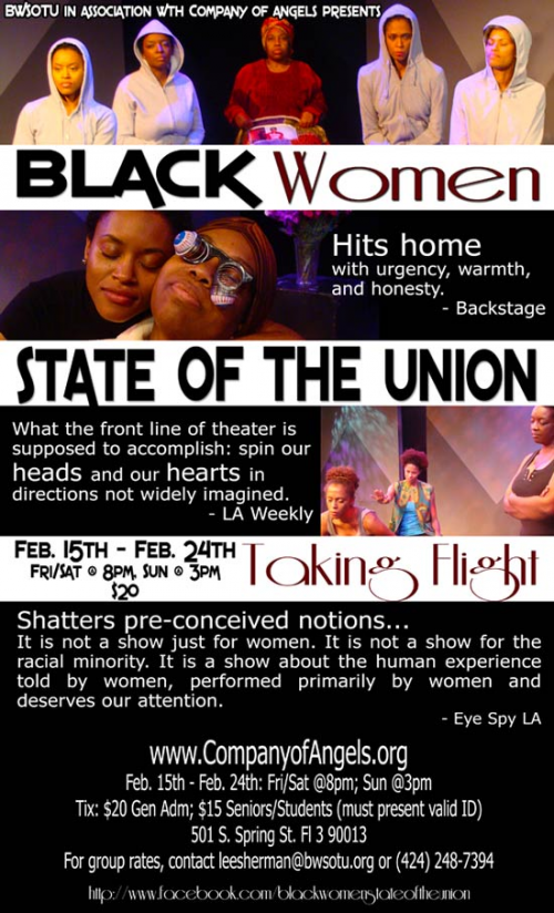 Black Women: State of the Union...Taking Flight'