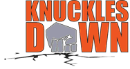 knuckles down'