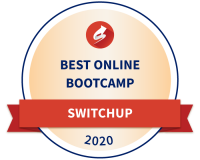Tech Academy Best Coding Boot Camp Award from SwitchUp