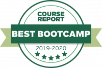 Tech Academy Best Online Coding Boot Camp Award from Course