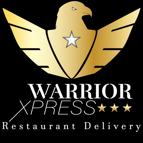 Company Logo For Warrior Xpress Restaurant Delivery'