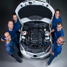 Company Logo For Cary Auto Body Specialists'