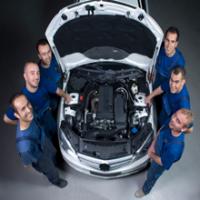 Cary Auto Body Specialists Logo