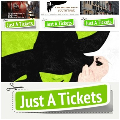 Company Logo For JustATickets'