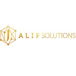 Alif Solutions Company Logo'
