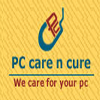 Logo for PC Care n Cure'